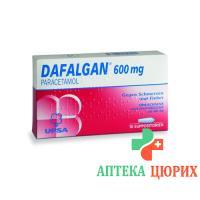 Дафалган 600 мг 10 суппозиториев