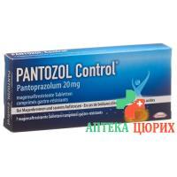 Пантозол Контроль 20 мг 7 таблеток покрытых оболочкой