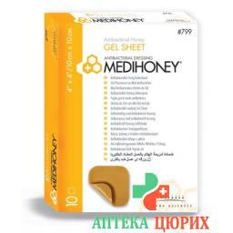 Medihoney гель Sheet 5x5см 10 штук
