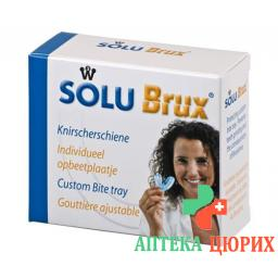 SoluBrux Knirscherschiene Transparent