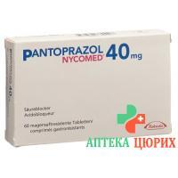 Пантопразол Никомед 40 мг 60 таблеток