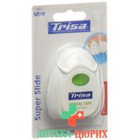 Trisa Super Tape Zahnseide 25m Mint Fluor