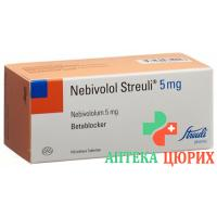 Небиволол Штройли 5 мг 100 таблеток