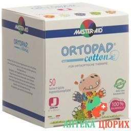 Ortopad Cotton Occlusionspfl Juni Boys -2j 50 штук
