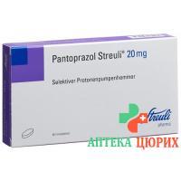 Пантопразол Штройли 20 мг 60 таблеток покрытых оболочкой