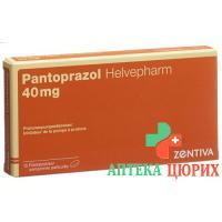 Пантопразол Хелвефарм 40 мг 15 таблеток покрытых оболочкой