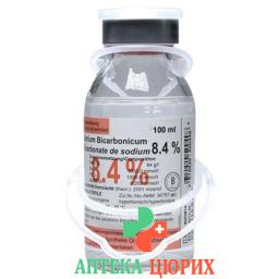 Натрия Бикарбонат Биксель 8.4% 100 мл