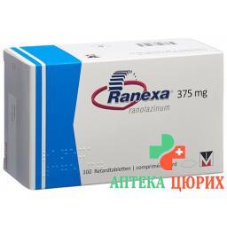 Ранекса ретард 375 мг 100 таблеток