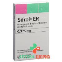 Сифрол ER 0,375 мг 10 ретард таблеток
