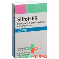 Сифрол ER 1,5 мг 30 ретард таблеток