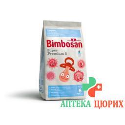 Бимбосан супер премиум 2 молочная смесь второго уровня пакет 400 грамм
