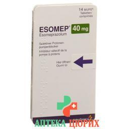 Эзомеп Мупс 40 мг 56 таблеток