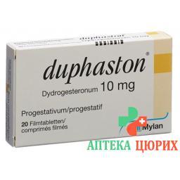 Дюфастон 10 мг 20 таблеток