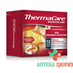 Thermacare Nacken Schulter Armauflage 6 штук