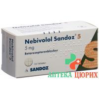 Небиволол Сандоз 5 мг 56 таблеток