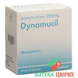 Динамуцил 200 мг 30 пакетиков гранулы