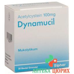 Динамуцил 100 мг 30 пакетиков гранулы