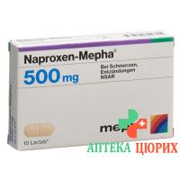 Напроксен Мефа 500 мг 10 таблеток покрытых оболочкой