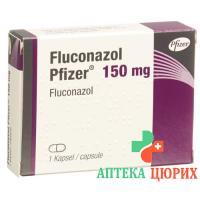 Флуконазол Пфайзер 150 мг 1 капсула