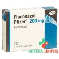 Флуконазол Пфайзер 200 мг 2 капсулы