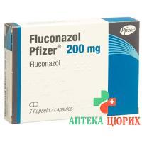 Флуконазол Пфайзер 200 мг 7 капсул