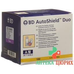 BD Autoshield Tm Duo Sicher-pen-nadel 5мм 100 штук