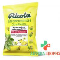 Рикола Лимон-Мелисса травяные леденцы без сахара 125 г