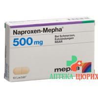 Напроксен Мефа 500 мг 20 таблеток покрытых оболочкой