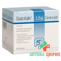 Салофальк гранулы 1,5 г 60 пакетиков