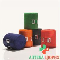 Bort Stabilo Color бинт 8смx5m Orange