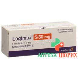 Логимакс 5/50 30 ретард таблеток