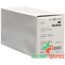 Mediset IVF Telfa Kompressen 3.5x5см Eingeschnitten 200 пакетиков