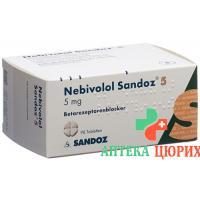 Небиволол Сандоз 5 мг 98 таблеток