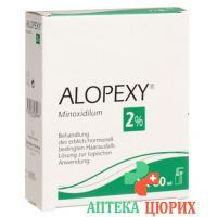 Алопекси раствор 2% спрей 60 мл