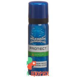 Wilkinson Protect Rasierschaum empfindliche Haut 50мл