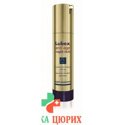 Lubex Anti-Age Night Rich крем 50мл
