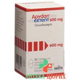 Апидан Экстент 600 мг 50 таблеток