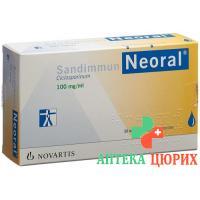 Сандиммун Неорал питьевой раствор 100 мг/мл 50 мл
