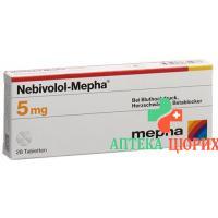 Небиволол Мефа 5 мг 28 таблеток
