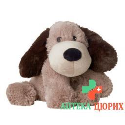 Beddy Bear Warme-Stofftier Hund Gary Lavendel