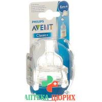 Avent Philips Thick Feed Sauger fur Folgenahrung