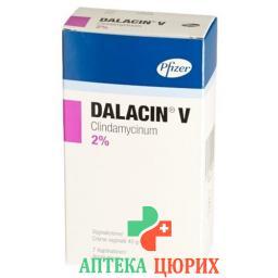 Далацин V вагинальный крем 2% тюбик 40 г