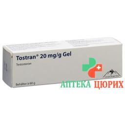 Тостран 20 мг / г  гель 60 г