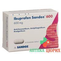 Ибупрофен Сандоз 600 мг 20 таблеток покрытых оболочкой