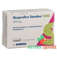 Ибупрофен Сандоз 400 мг 20 таблеток покрытых оболочкой