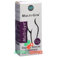 Мульти-Гин средство для интимной гигиены + шипучие таблетки (комплект)