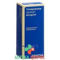 Тримипрамин Зентива капли 40 мг/мл 30 мл