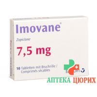 Имован 7,5 мг 10 таблеток