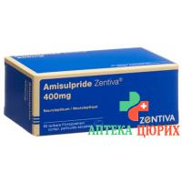 Амисульприд Зентива 400 мг 90 таблеток покрытых оболочкой
