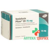 Венлафаксин Пфайзер ER 75 мг 98 ретард капсул